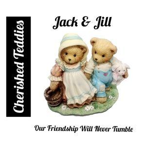 Cherished Teddies ~ Jack & Jill. Our Friendship